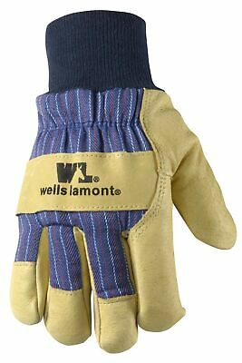 Mens Winter Work Gloves With Leather Palm 100-gram Insulation X-large Wel...
