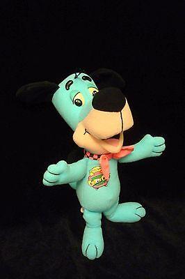 "HUCKLEBERRY HOUND 10"" PLUSH Stuffed Dog HANNA-BARBERA 1993 Mattel CARTOON CLUB"