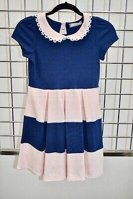 Designer Girls Dresses Sale (NWT Soprano Designer Pink/Blue girls dress Size Large or 14 On)