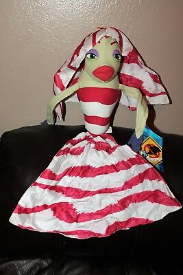 Shark Tale Lola (NEW WITH TAGS DREAMWORKS  SHARK TALE LOLA  PLUSH 24