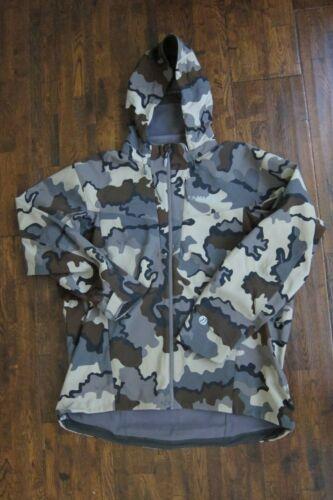 Kuiu Ultralight Hunting Camo Kutana Soft Shell Jacket Coat Sz 3XL - Vias Pattern