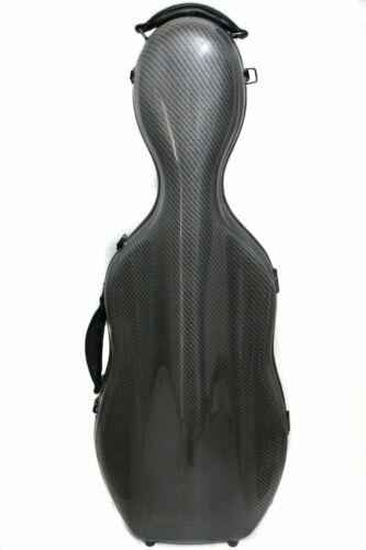 Yinfente Black 15/16 inch Viola case Viola Box Carbon Fiber Strong Light