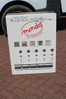 Warenautomat Pariser Automat Kondome Grüning Mondo Süssigkeiten 3 x 1 € #001