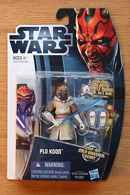 Plo Koon *MOC New NM Minty* CW6 (Star Wars The Clone Wars - Star Wars The Clone Wars Plo Koon