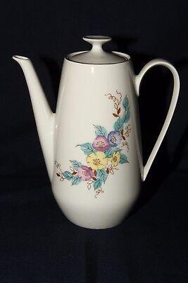 Kaffeekanne Blumen Motiv Golditz Porzellan 1,5 Liter Höhe 23 cm DDR TOP Art!!