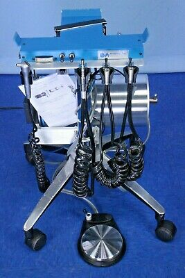Aseptico Portable Mobile Dental Delivery With Air Tank Perfect For Veterinary