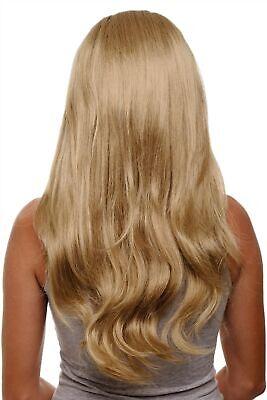 Clip-in Haarteil 7 Klammern 3/4 Perücke Honigblond Blond glatt 60cm H9505-16