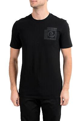 Versace Collection Men's Black Graphic Crewneck T-Shirt Sz S M L XL 2XL