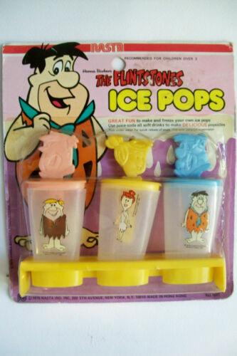 Vintage 1979 The Flintstones Ice Pops by Nasta   Unused/MOC   Hanna-Barbera