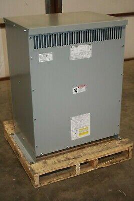 New G E 112.5 Kva Transformer 9t10d1005 480d Pri. 208y120 Sec. Copper Winding