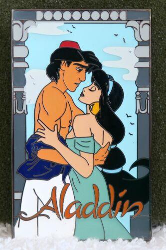 DISNEY FANTASY PIN ALADDIN & JASMINE ROMANCE NOVEL LE Jumbo
