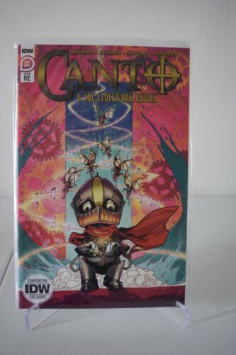 IDW Canto & the Clockwork Fairies SDCC 2020 Comic-Con @Home Exclusive