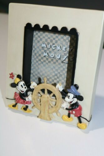 Mickey Mouse Steamboat Disney Picture Frame - NIB Charpente