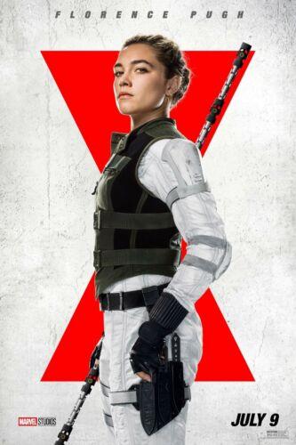 Black Widow movie poster (g)  - 11 x 17 -  Florence Pugh