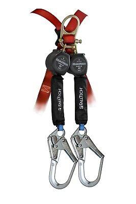 Falltech 72706th3 Duratech Mini Twin Leg 6 Self-retracting Lanyard Device