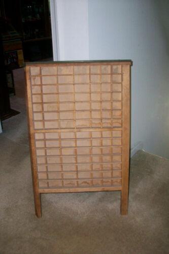 Vintage Wood Printers Tray with Legs.....Clean