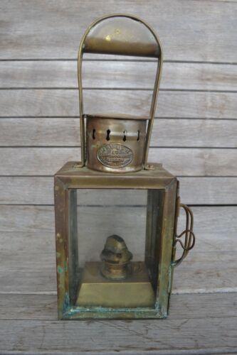 Vintage Robb Moore & Neill Ltd Lantern, Ship Chandlers Glasgow, Cardiff & London