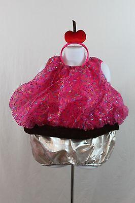 Boutique Cupcake Kuchen Süß Kinder Halloween Kostüm Kleinkind - Kind Cupcake Kostüm