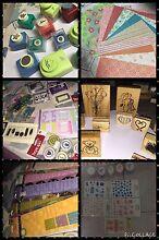 Scrapbooking & card making stock sale Penrith Penrith Area Preview