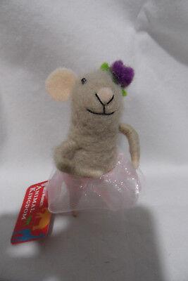 World Market ANIMAL KINGDOM ballerina mouse 4.5