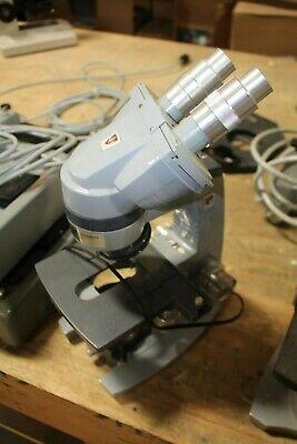 Ao American Optical Microscope W Binocular