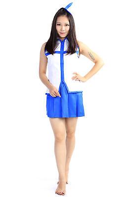Fairy Tail Cosplay Costume Blondie Princess Heartfilia Lucy Outfit 1st Ver (Blondie Cosplay Kostüm)