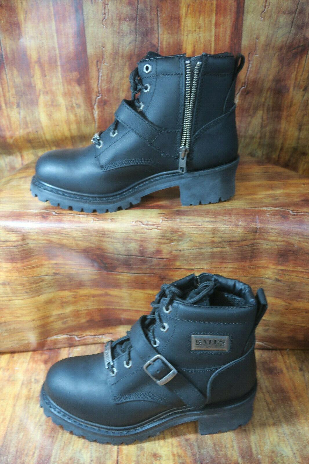 Bates Women's Albion Logger Boot,Black,7 M US