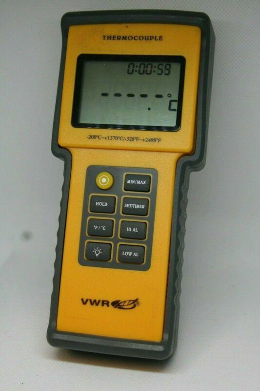 VWR Model 23609-232 Thermocouple, -200C~+1370C/-328F~+2498F