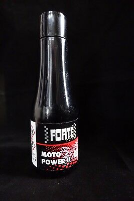 Forte Moto Power II Motorcycle Fuel Additive - Feel the Difference