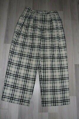 Women's Ivan Grundahl Copenhagen Wide Pants Trousers Size 42 wool