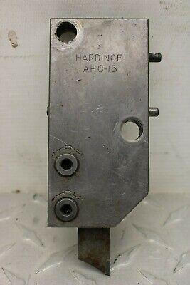 Hardinge Ahc-13 Cut Off Tool Holder For Vertical Slide 886