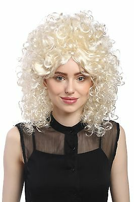 Wig Ladies Carnival Curls Afro 70er 60er Baroque Tower Hairstyle Beehive - 1970s Hairstyles For Women