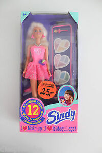 Hasbro Puppe Make Up Sindy NEU OVP 90er Jahre