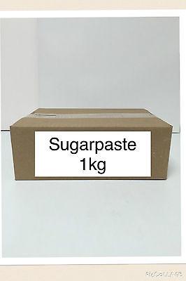 1kg Sugarpaste Ready to roll Fondant Icing Sugar Paste
