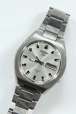 Vintage Seiko 5 Automatic 7009-8280-P Mens Watch Original Bracelet