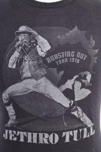 VTG 1978 JETHRO TULL Bursting Out Tour Rock T-Shirt USA Mens Size Medium