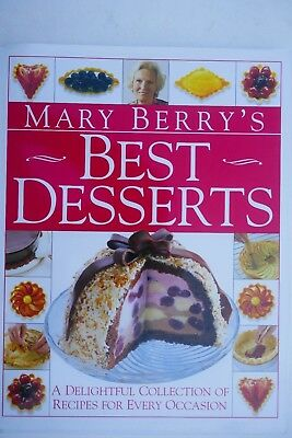 Mary Berry's Best Desserts by Berry, Mary (Dorling Kindersley H/b) UNREAD,