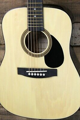 Johnson JG-610-R  1/2 Size Acoustic Travel Guitar, Natural #R5585