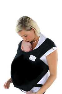 BABY SLING STRETCHY WRAP CARRIER  -  BIRTH -3 yrs - BREASTFEEDING