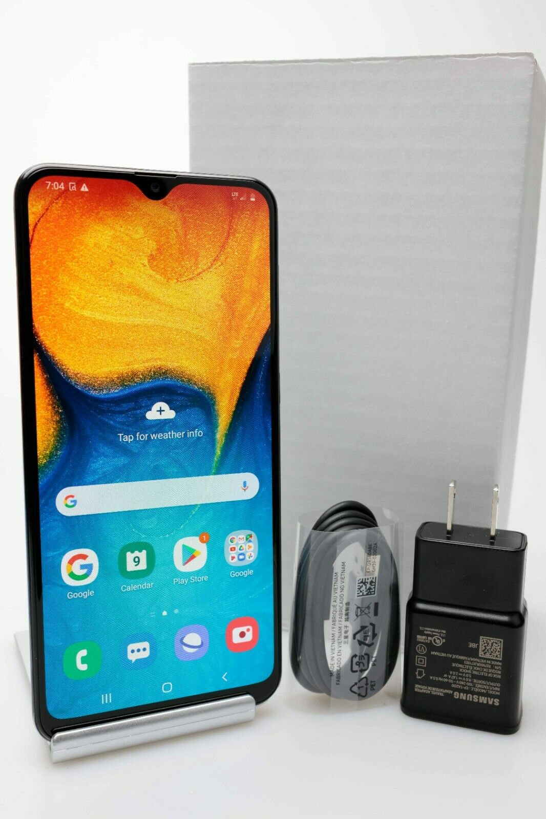Android Phone - Samsung Galaxy A20 SM-A205U 4G LTE 32GB GSM Unlocked Android Phone