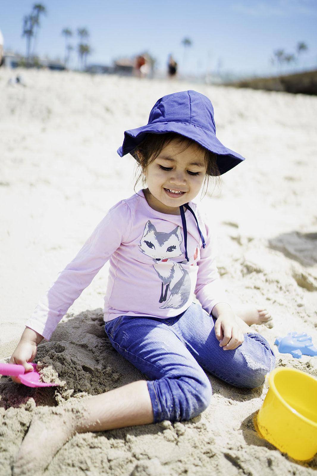 Baby Sun Hat Newborn Boy Girl Toddler Summer Bucket Hat Outd