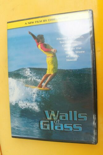 WALLS OF GLASS Longboarding Joel Tudor CJ Nelson Herbie Fletcher NEW Surfing DVD