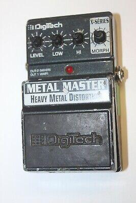 Digitech X Metal Master DistortionGuitar Effect Pedal - Parts or Repair #R3150