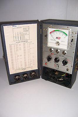 Vintage B K Model 440 Crt Cathode Rejuvenator Tv Tester