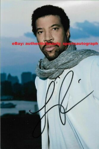 LIONEL RICHIE ALL NIGHT LONG FUNK SOUL AUTO SIGNED 12x18 POSTER PHOTO REPRINT RP