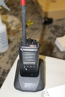 Kenwood Tk280 Radio With Charger Base