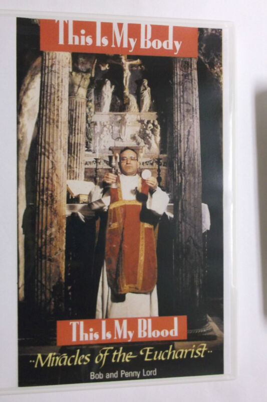 This Is My Body, This Is My Blood Miracles of the Eucharist DVD, New