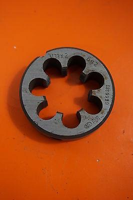 Wmw M33x2 Hss Thread Cutter Cutting Iron Threading Dies Outer Thread