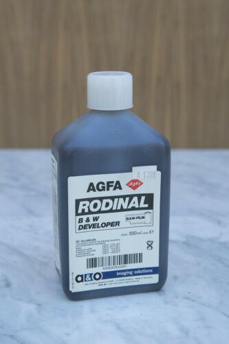 AGFA Rodinal Film Developer 500 mL NOS