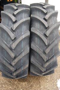 Set 2 Stk AS-REIFEN 16.9-34 16.9/14-34 8PR Traktorreifen Schlepper (bis 30 km/h)